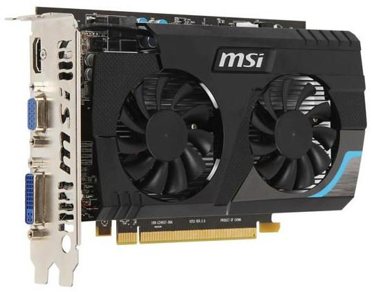 Видеокарта MSI Radeon HD 6670
