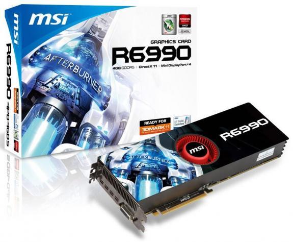 MSI Radeon HD 6990