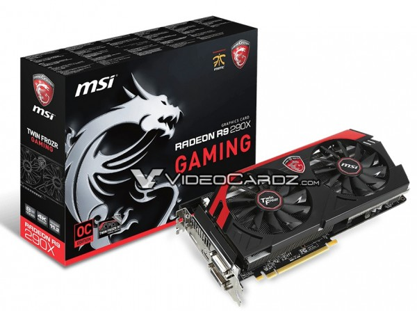 MSI R9 290X GAMING 8GB