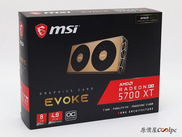 MSI, Radeon RX 5700 EVOKE OC
