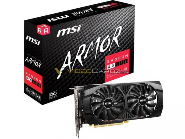 MSI Radeon RX 580 ARMOR
