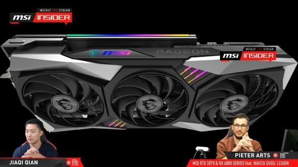MSI Radeon RX 6800 XT GAMING X Trio