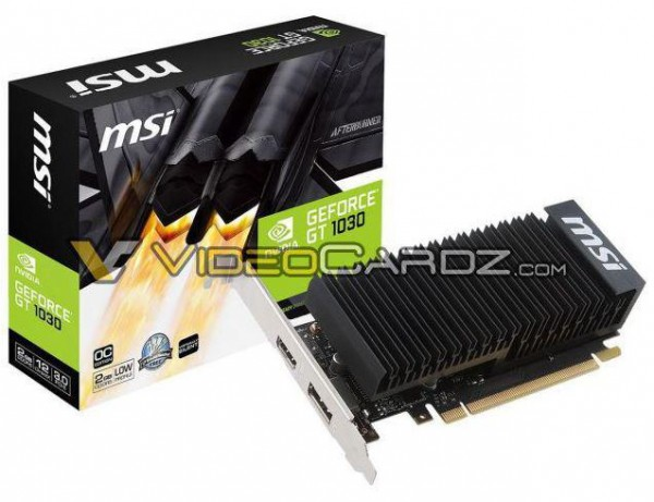 MSI GeForce GT 1030 2GB LP