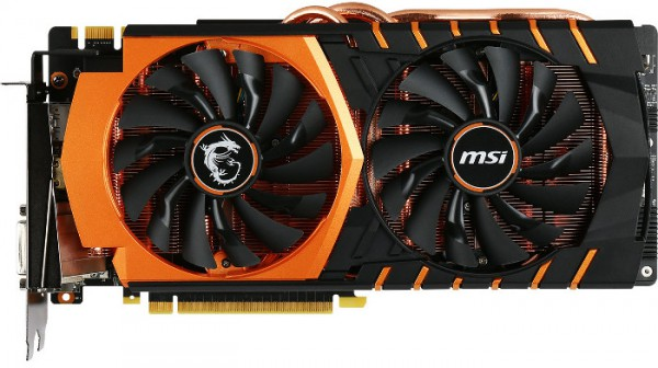 MSI GeForce GTX 980 Ti Gaming Golden Edition