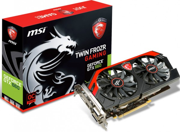 MSI GeForce GTX 660 Gaming Series