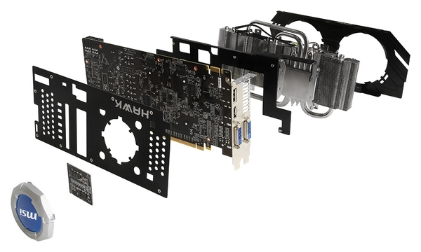 MSI GeForce GTX 660 Hawk Edition