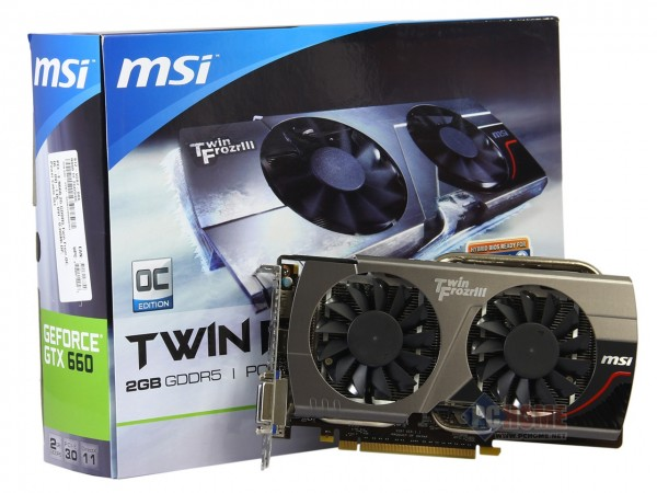 MSI GeForce GTX 660 Twin Frozr III