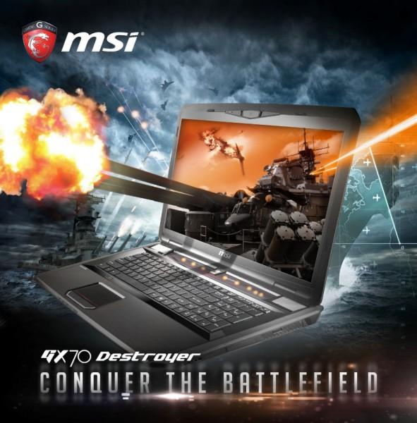 MSI GX70 Destroyer и MSI GX60 Destroyer