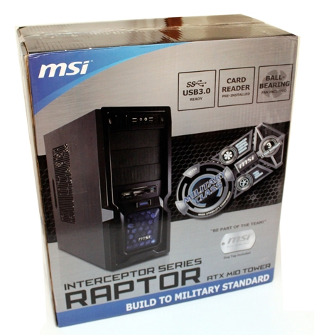 MSI Interceptor Raptor