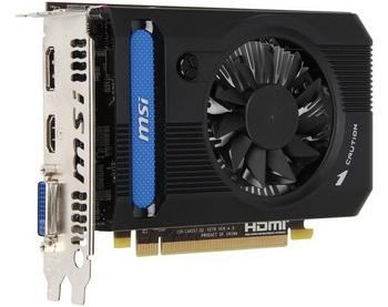 MSI Radeon HD 7750 DDR3