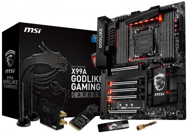 MSI X99A Godlike Gaming Carbon