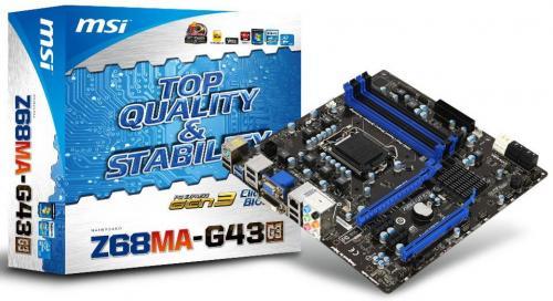 MSI Z68MA-G43 (G3)
