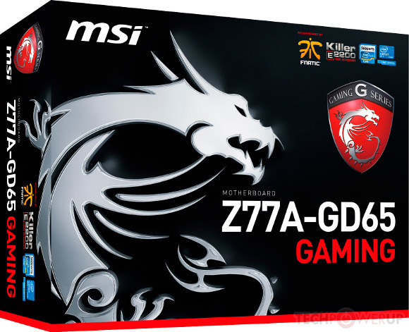 MSI Z77A-GD65 Gaming Series