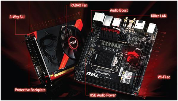 Z87I GAMING AC, GTX 760 GAMING ITX, MSI
