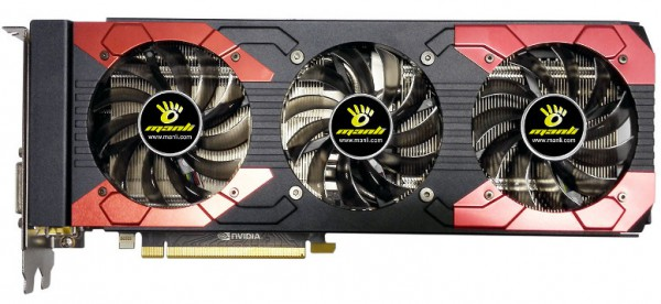 Manli GeForce GTX 1070 Ti with Triple Cooler
