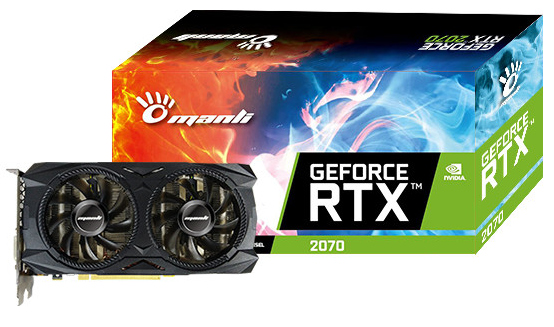 Manli GeForce RTX 2070 Twin Cooler