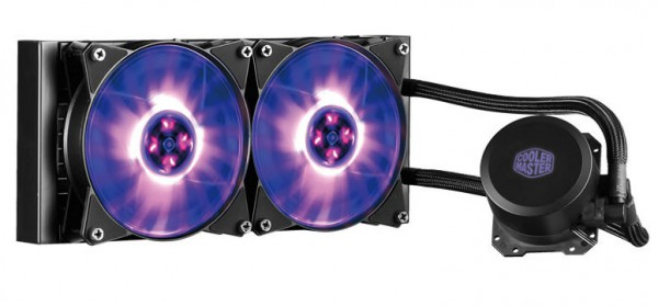 Cooler Master MasterLiquid ML120L и ML240L RGB