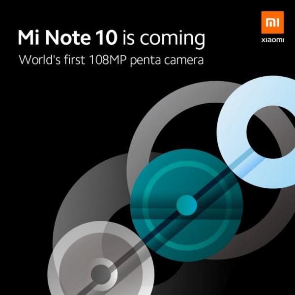 Xiaomi Mi CC9 Pro, Mi Note 10