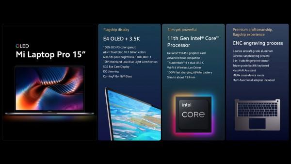 "Xiaomi Mi Laptop Pro 15"""