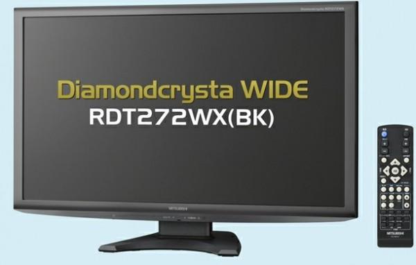 Mitsubishi DiamondCrysta Wide RDT272WX-BK