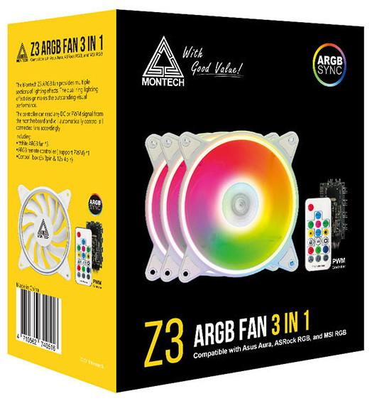 Montech Z3 ARGB 3-in-1