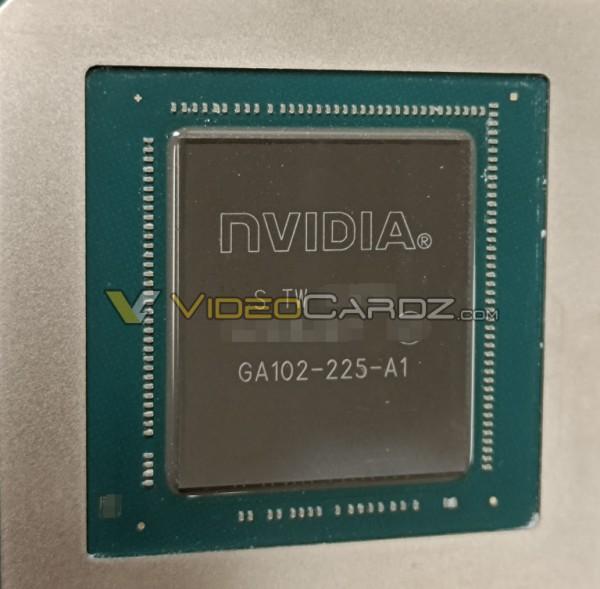 NVIDIA GeForce RTX 3080 Ti GPU GA102-225