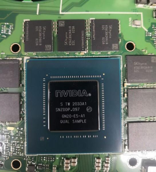 NVIDIA, GeForce RTX 3070 Mobile, GN20-E5-A1, GA104, Ampere