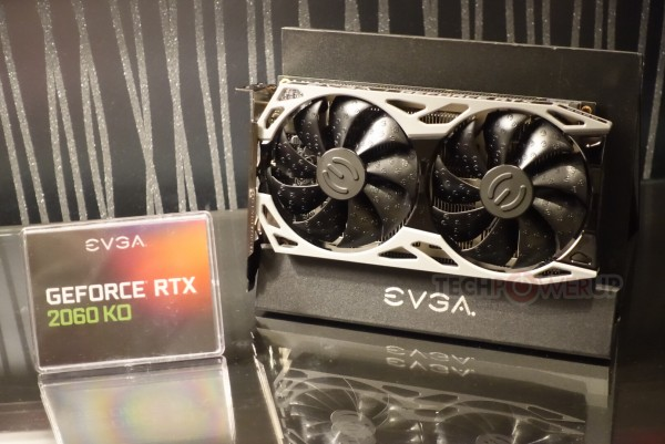EVGA GeForce RTX 2060 KO и RTX 2060 KO Ultra