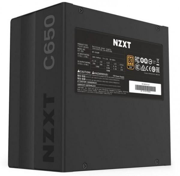 NZXT C650, C750 и C850