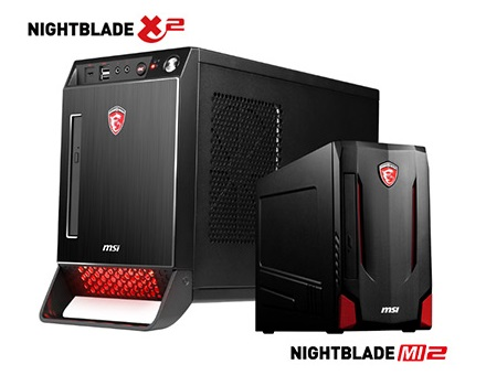 MSI, Nightblade Mi2, Nightblade X2