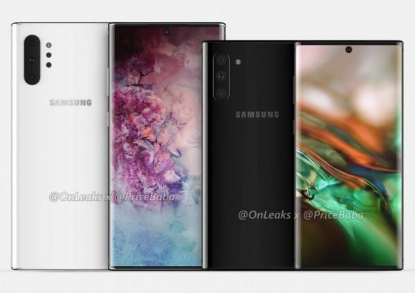 Samsung Galaxy Note10 и Note10 Pro