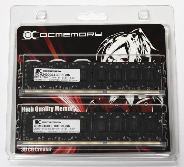 OCMemory OCM2400CL10D-8GBN