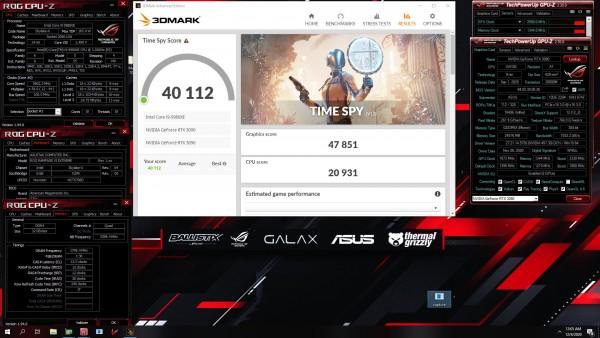 OGS в 2x 3DMark - Time Spy