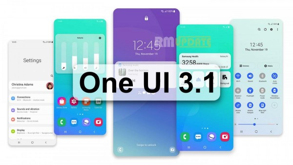 Samsung Galaxy A70, Google Android 11, One UI 3.1