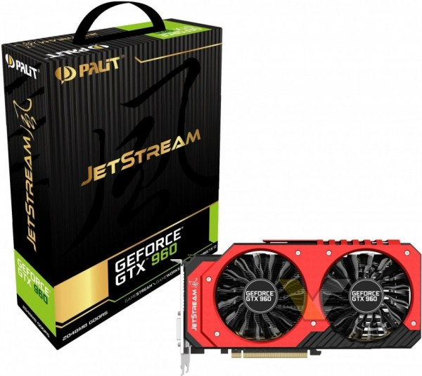Palit GeForce GTX 960 JetStream