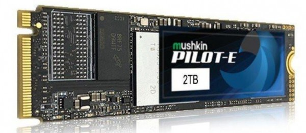Mushkin PILOT-E NVMe M.2 SSD