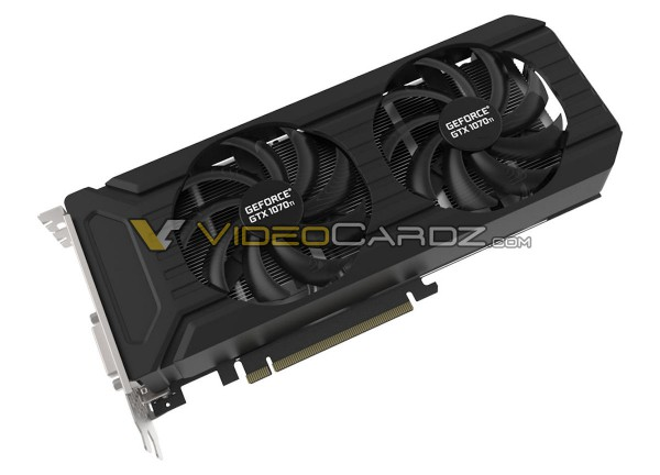 PNY GeForce GTX 1070 Ti