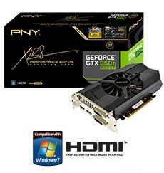 PNY GeForce GTX 650 Ti Boost XLR8
