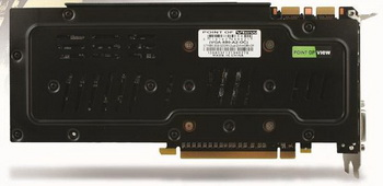 POVTGT GeForce GTX 680 BEASTBackplate