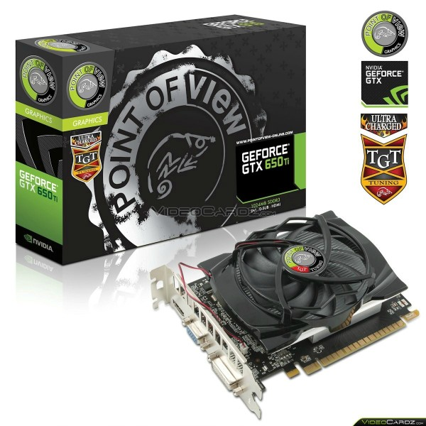 POVTGT GeForce GTX 650 Ti