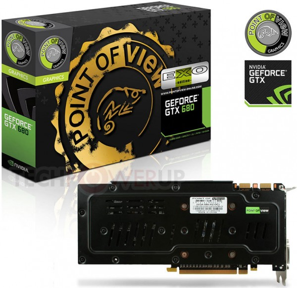 POV GeForce GTX 680 EXO