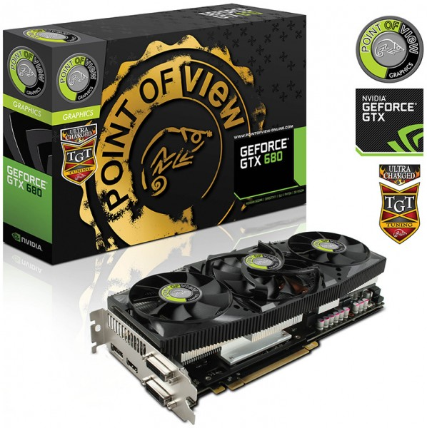 POVTGT GeForce GTX 680 Ultra Charged 4 GB Low Leakage Selection