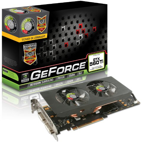 Point of View TGT Series GeForce GTX 560 Ti Charged