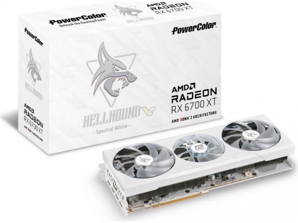 PowerColor Radeon RX 6700 XT Hellhound Spectral White