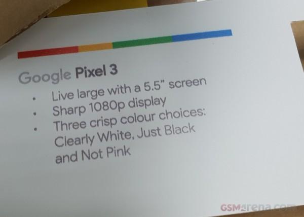 Google, Pixel 3, Pixel 3 XL