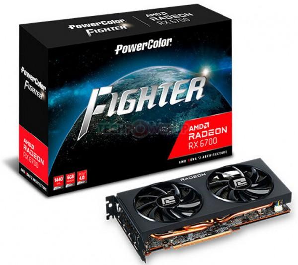 PowerColor Radeon RX 6700 Fighter