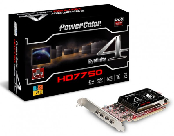 PowerColor HD7750 Eyefinity 4 LP Edition