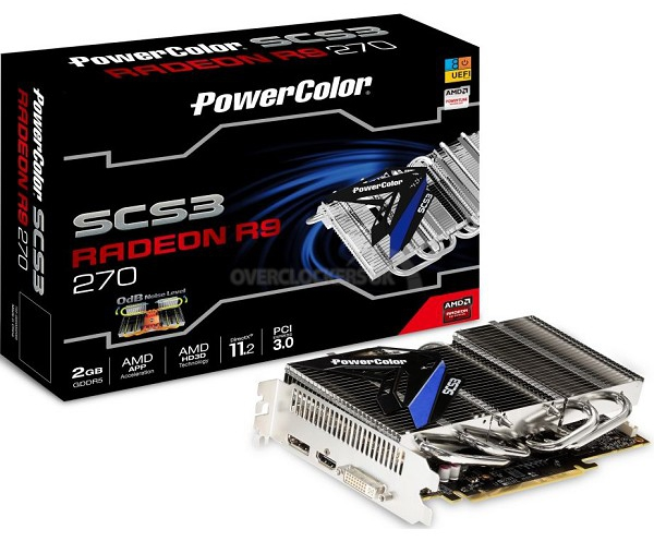 PowerColor Radeon R9 270 SCS3