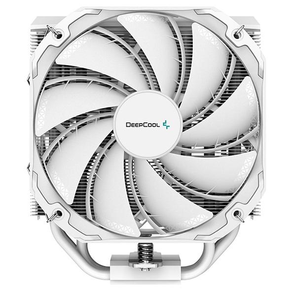 Deepcool анонсирует белый CPU-кулер AS500 PLUS WH с двумя 140-мм вентиляторами