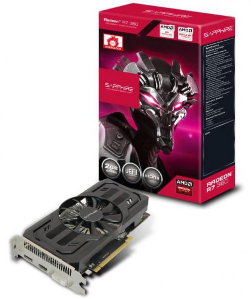 Sapphire Radeon R7 360 2G D5